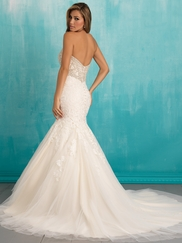 Allure 9305 Sweetheart Beaded Bridal Dress