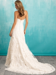 Allure 9309 Sweetheart Lace Bridal Dress