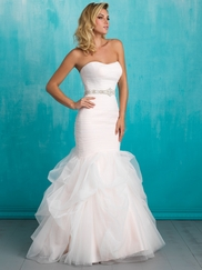 Allure 9317 Strapless Bridal Dress