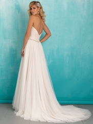 Allure 9324 Sweetheart Lace Bridal Dress