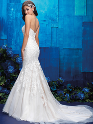 Allure Bridals 9403 Sweetheart Wedding Gown