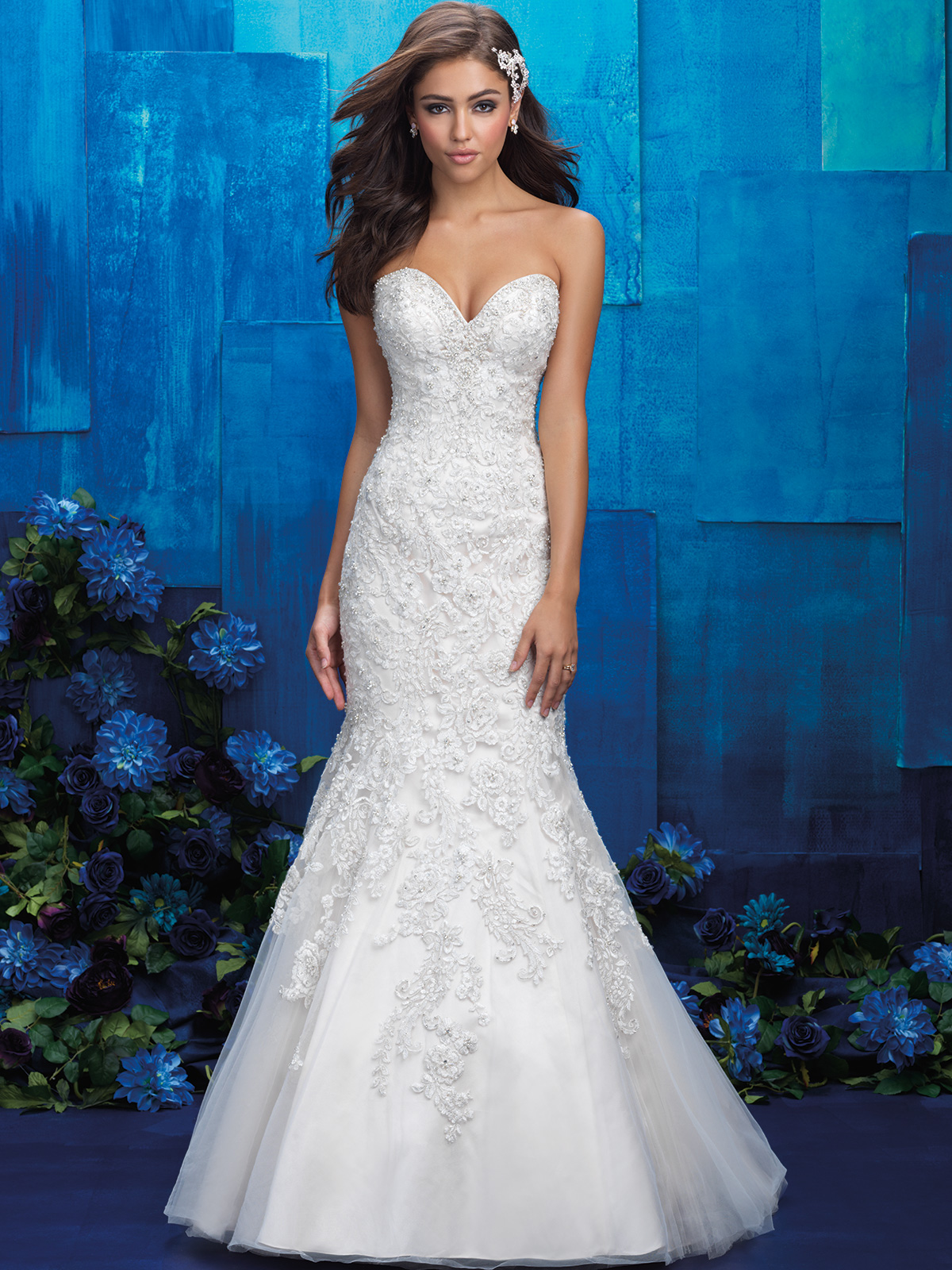 Allure Bridals 9403 Sweetheart Mermaid Wedding Gown|DimitraDesigns.com