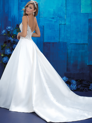 Allure Bridals 9404 V-neck Wedding Gown