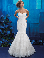 Allure Bridals 9407 Sweetheart Wedding Gown