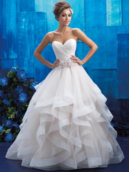 Allure Bridals 9408 Sweetheart Wedding Gown