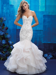 Allure Bridals 9421 Sweetheart Wedding Gown
