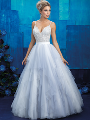 Allure Bridals 9425 V-neck Wedding Gown