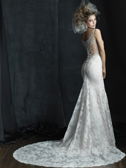Allure Bridals Couture C381 V-neck Wedding Dress