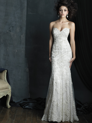 Allure Bridals Couture C383 Sweetheart Wedding Dress