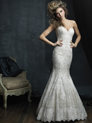 Allure Bridals Couture C385 Sweetheart Wedding Dress