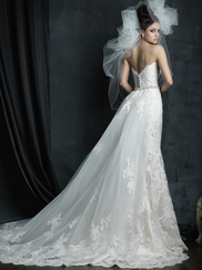 Allure Bridals Couture C387 Sweetheart Wedding Dress