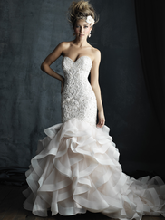 Allure Bridals Couture C389 Sweetheart Wedding Dress