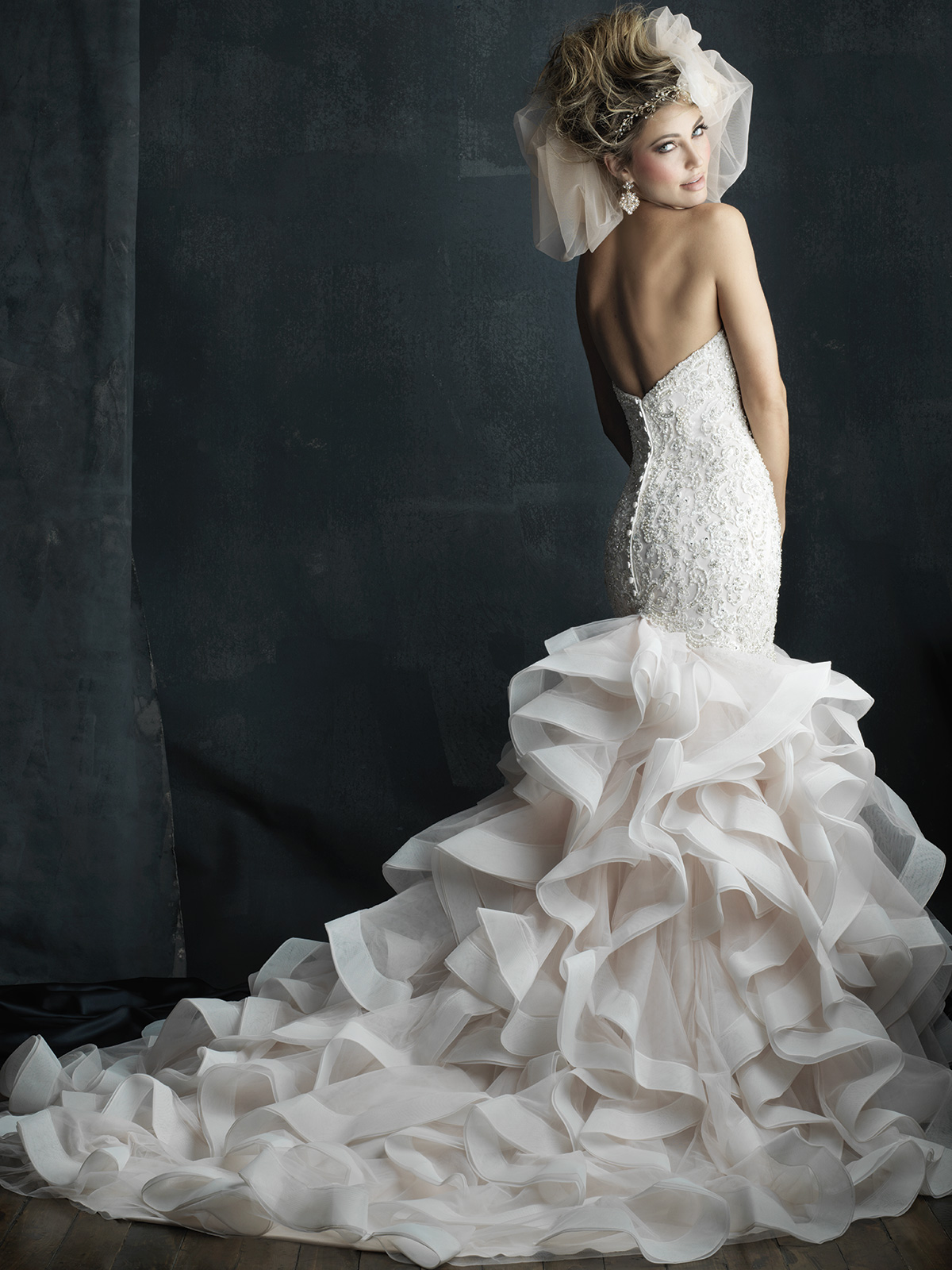 allure bridals couture c389 sweetheart mermaid wedding