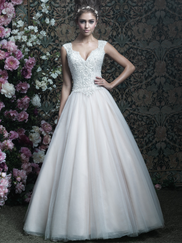 Allure Bridals Couture C407 Sweetheart Wedding Dress