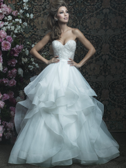 Allure Bridals Couture C417 Sweetheart Wedding Dress