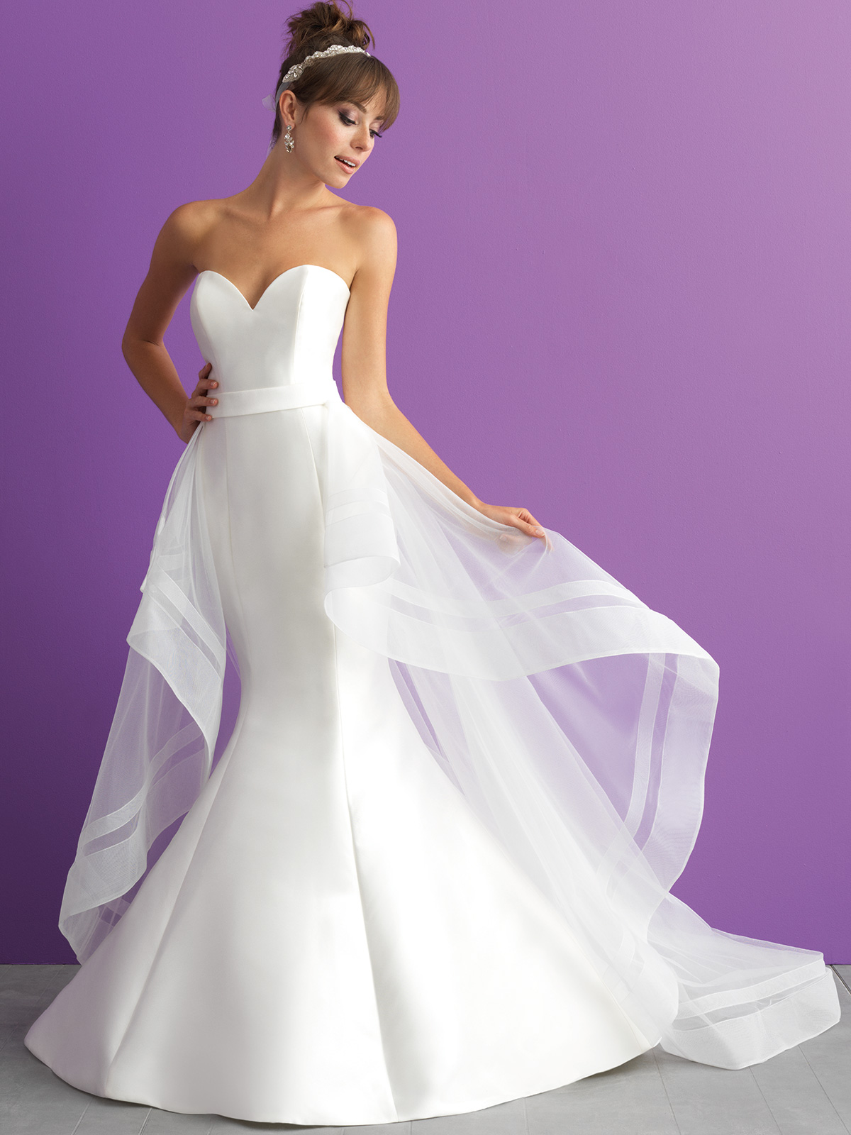 Mikado Mermaid Allure Romance Bridal