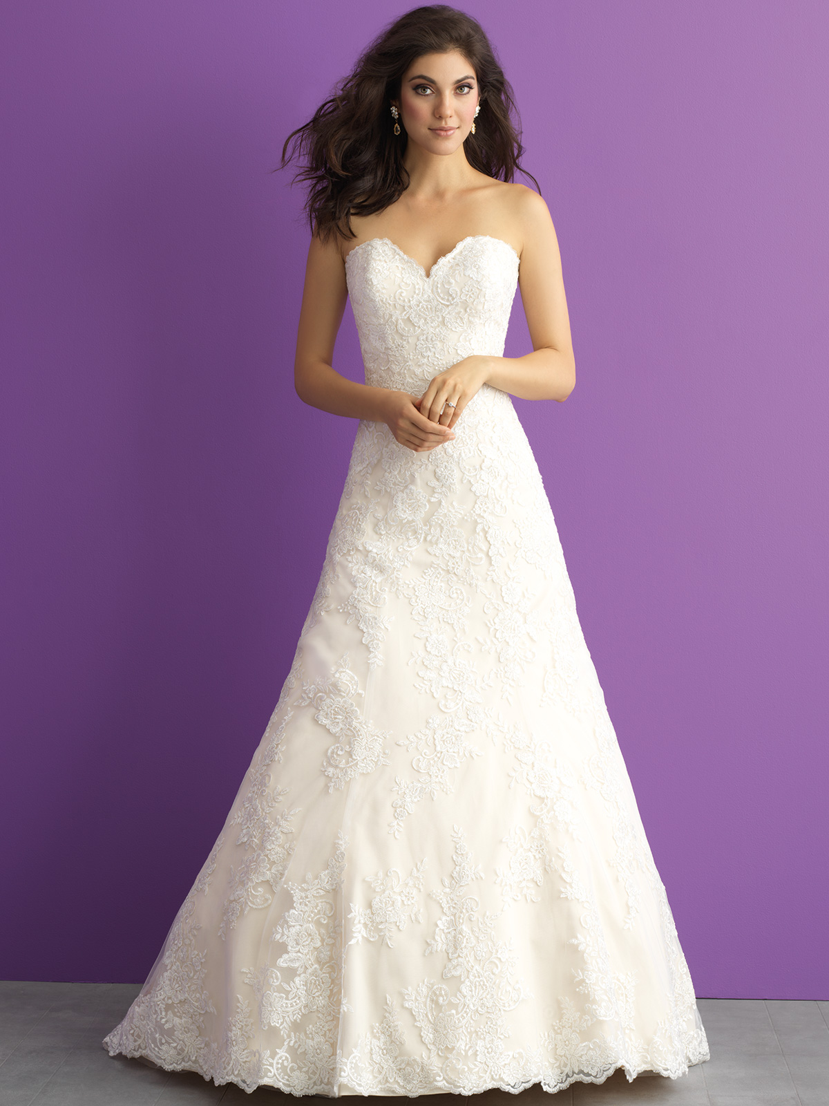 42c72ceaee Allure Romance 3012 Sweetheart A-line Wedding Dress