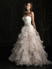 Allure Wedding Gown 8955