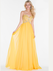 Alyce Paris 6682 Sweetheart Prom Gown