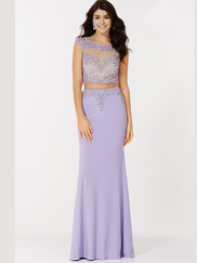 Alyce Paris 6704 Two Piece Prom Gown