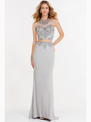 Alyce Paris 6713 Illusion Sweetheart Neckline Prom Gown