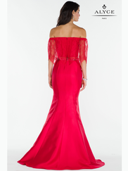 Alyce Paris 6732 Off The Shoulder Prom Gown