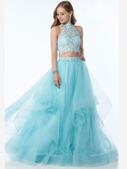 Alyce Paris 6765 Two Piece Prom Gown