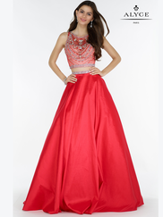 Alyce Paris 6767 Two Piece Prom Gown