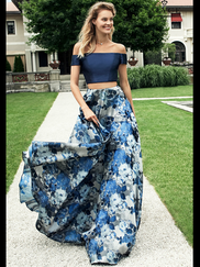 Alyce Paris 6775 Off The Shoulder Prom Gown