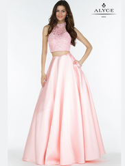Alyce Paris 6785 Two Piece Prom Gown