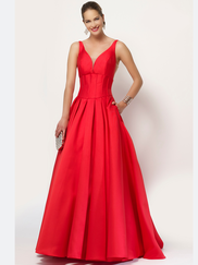 Alyce Paris 6791 V-neck Prom Gown