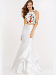 Alyce Paris 6813 Two Piece Prom Gown