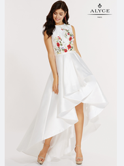 Alyce Paris 6830 High Neck Prom Gown