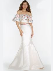 Alyce Paris 6836 Off The Shoulder Prom Gown