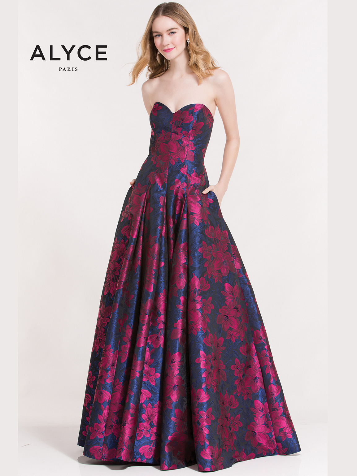 Alyce Paris 7015 Sweetheart Ball Gown Prom Dress|DimitraDesigns.com