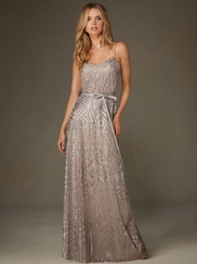 Angelina Faccenda 20477 Sweetheart Sequin Bridesmaid Dress