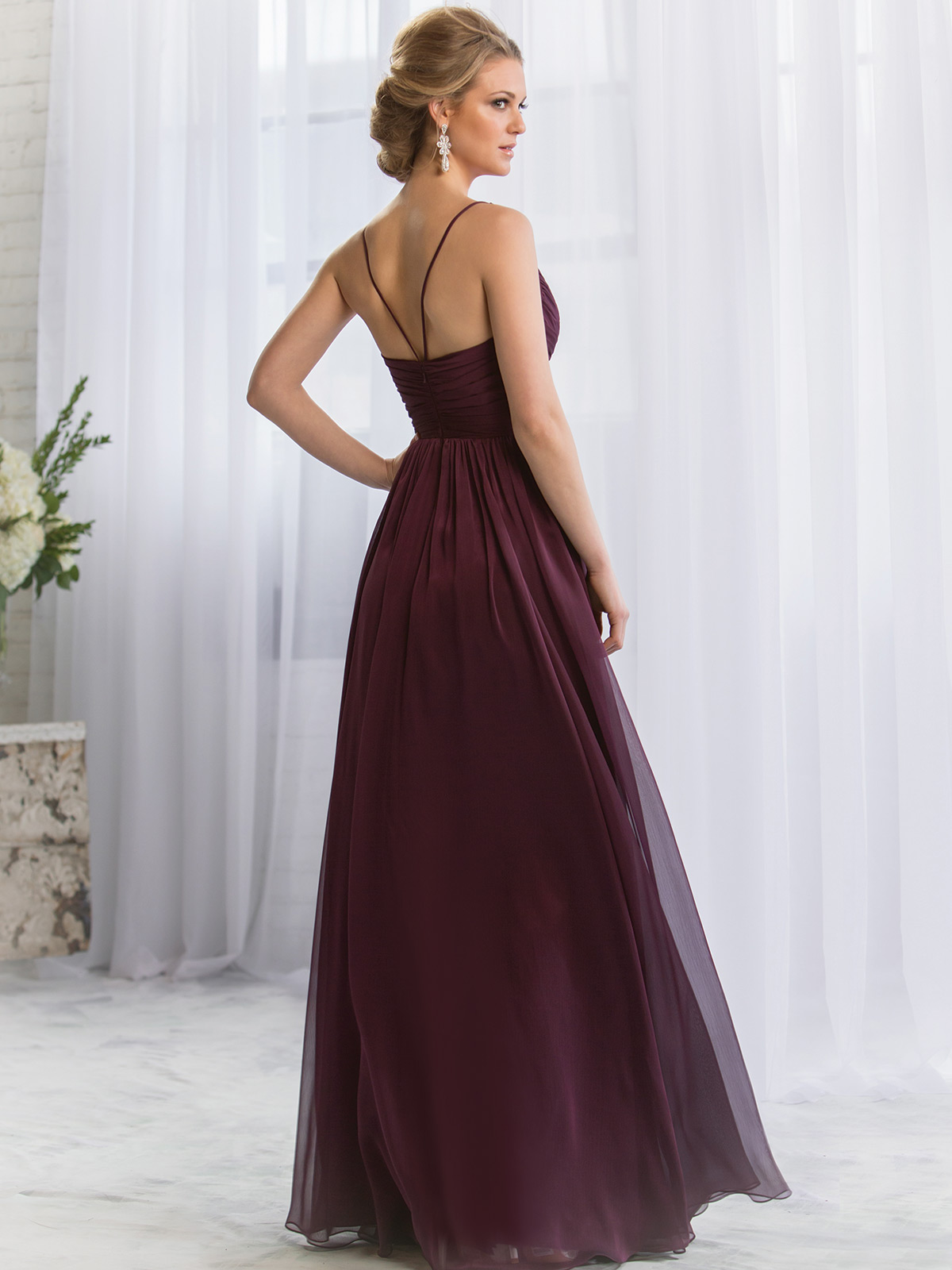 Belsoie bridesmaid dress l164052 dimitradesigns stunning chiffon floor length a line bridesmaid dress belsoie l164052 ombrellifo Choice Image