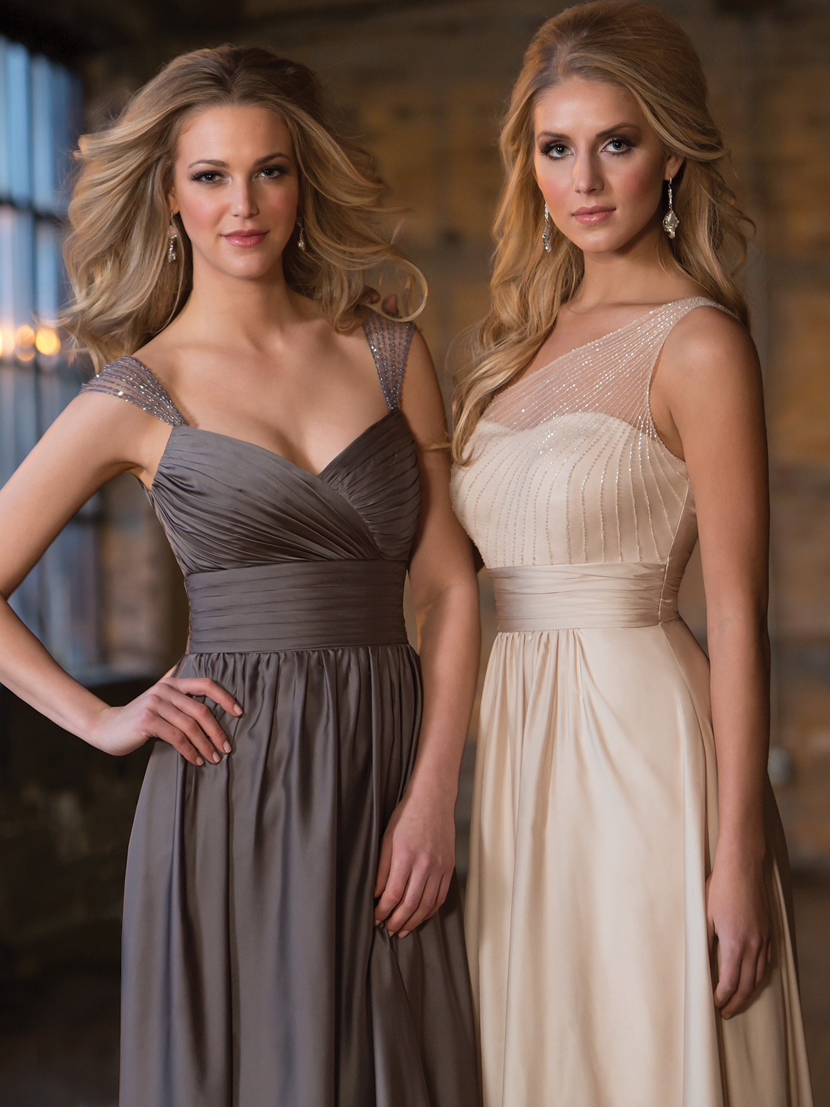 Belsoie bridesmaid dress l164056 dimitradesigns spectacular satin chiffon floor length bridesmaid dress belsoie l164056 ombrellifo Image collections
