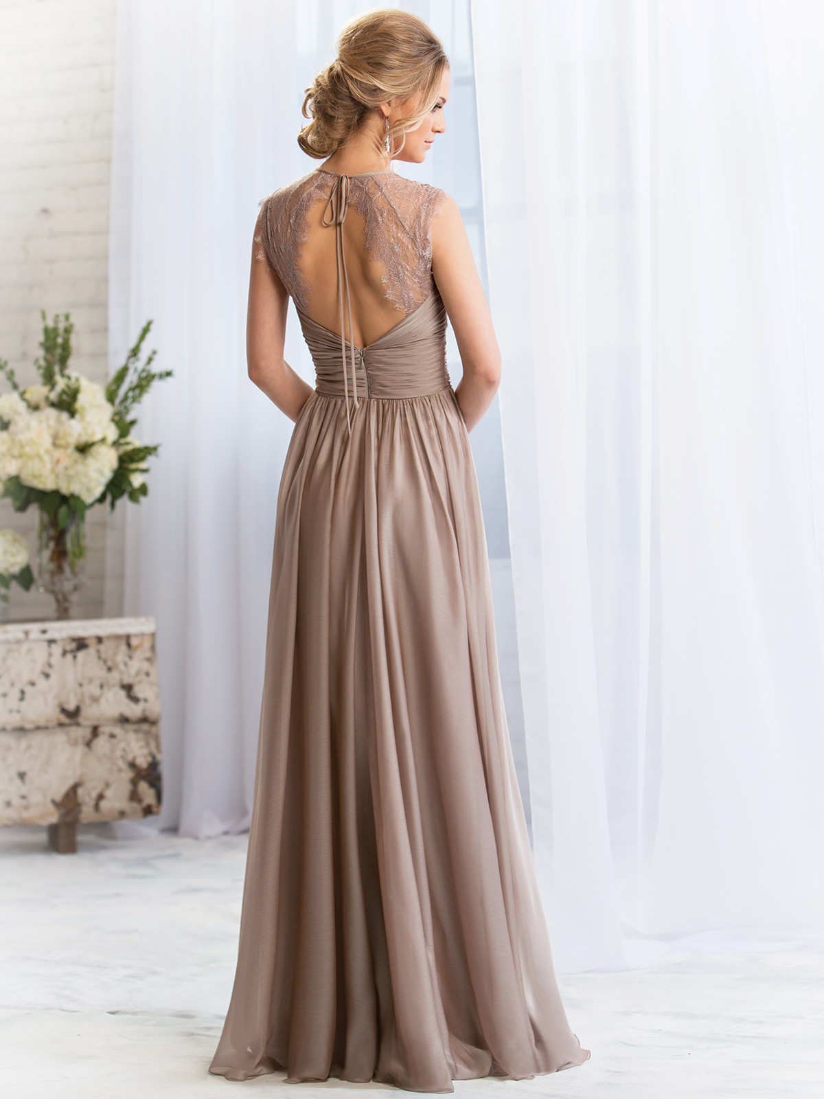 Belsoie bridesmaid dress l164057 dimitradesigns amazing chiffon floor length bridesmaid dress belsoie l164057 ombrellifo Images