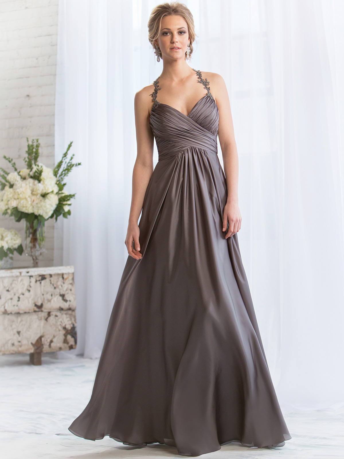 Belsoie Bridesmaid Dress L164069: DimitraDesigns.com