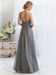 Bateau Neckline Belsoie Bridesmaids Dress by Jasmine L164070