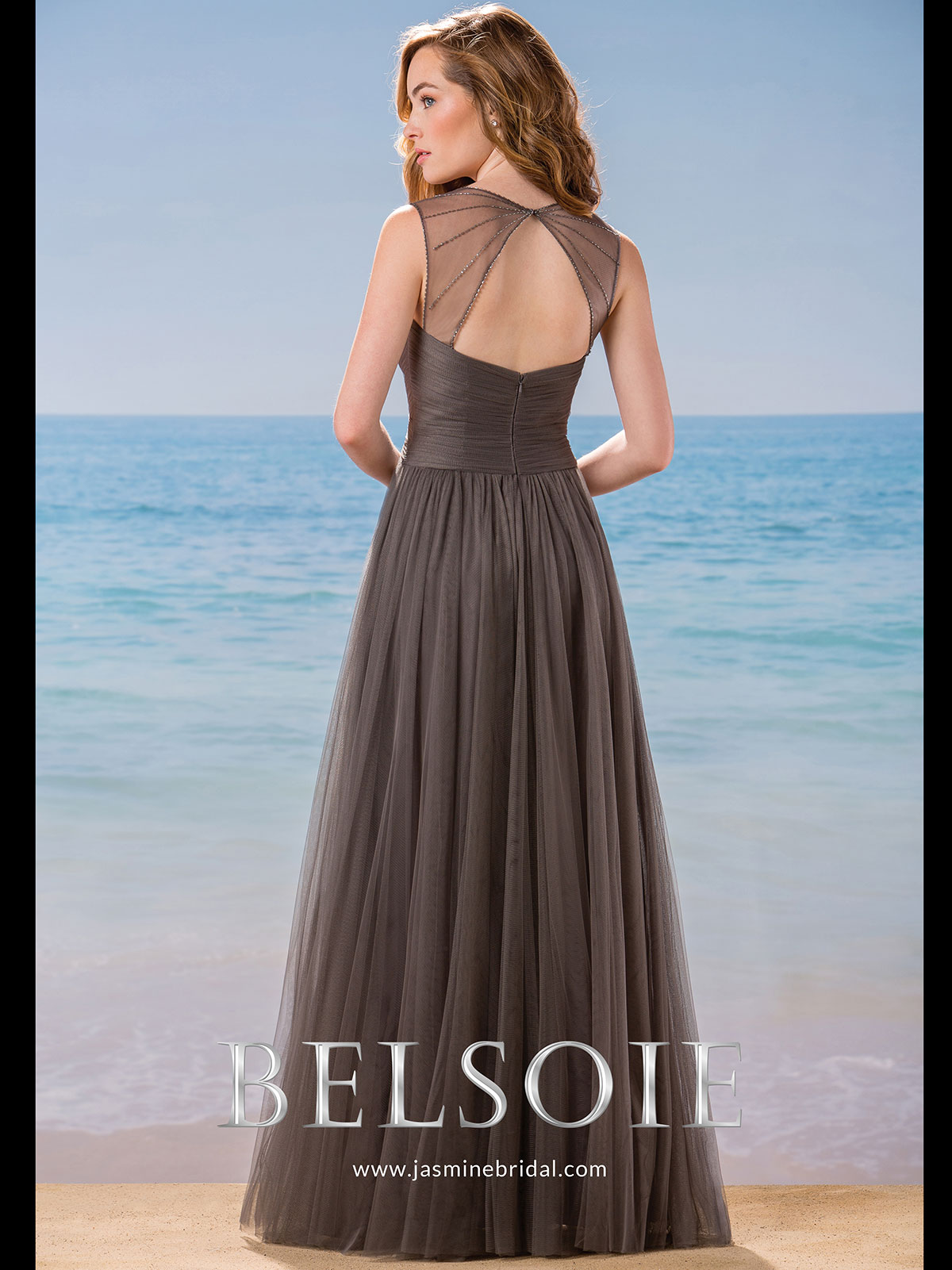 Belsoie l184002 sweetheart soft tulle a line bridesmaid dress soft tulle a line belsoie bridesmaid dress l184002 ombrellifo Choice Image