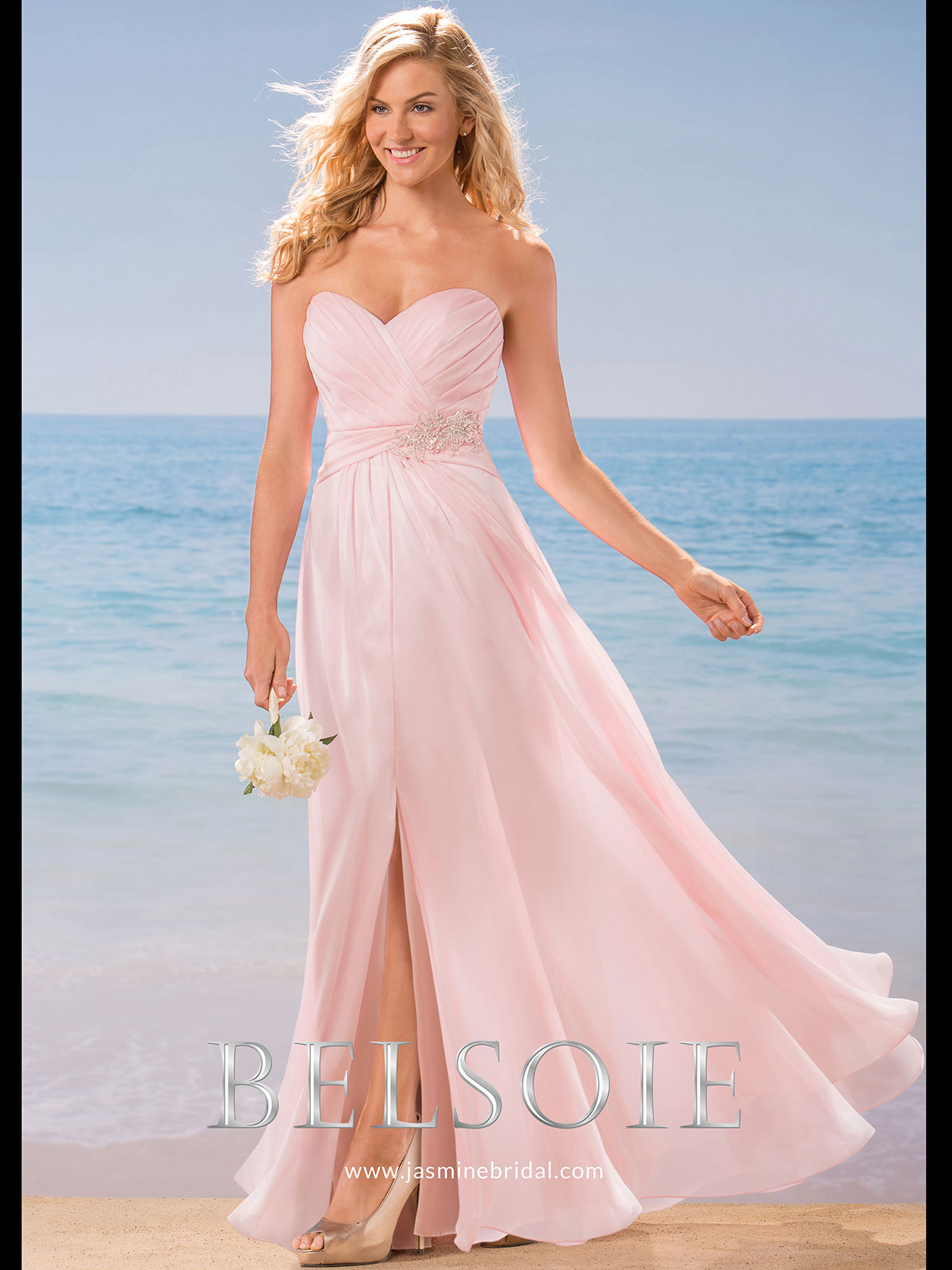 Belsoie l184005 sweetheart chiffon a line bridesmaid dress belsoie l184005 sweetheart pleated bridesmaid dress ombrellifo Images