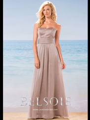 Belsoie L184006 Sweetheart Beaded Bridesmaid Dress