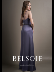 Belsoie L194015 V-neck Bridesmaid Dress