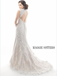 Cap Sleeves Lace Bridal Gown Maggie Sottero Jessica