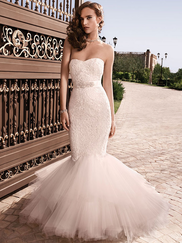 Casablanca 2129 Soft Sweetheart Neckline Wedding Dress