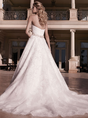 Casablanca 2136 Strapless Sweetheart Wedding Dress