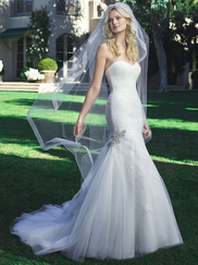 Casablanca 2216 Strapless Sweetheart Wedding Dress