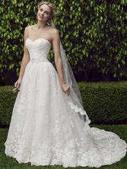Casablanca 2229 Strapless Sweetheart Wedding Dress